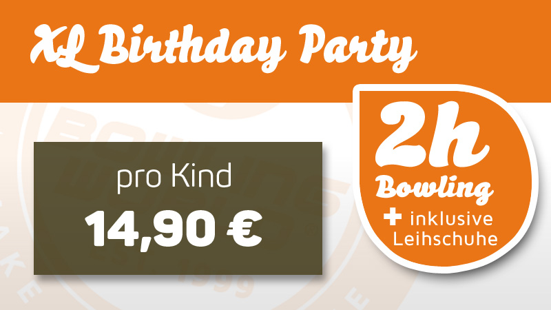 Kid´s Birthday Party - XL